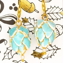 Connie Pearl Light Turquoise