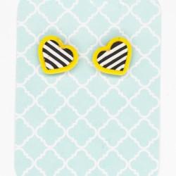 Beach Hearts - Yellow